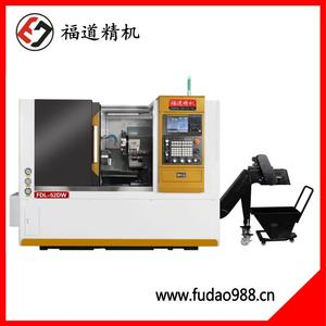 Fudao turret tail top CNC lathe FDL-52DW
