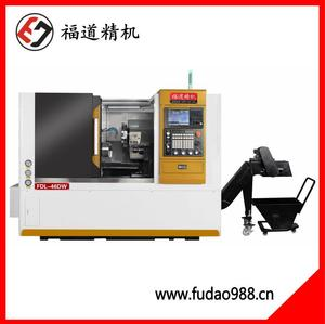 Fudao turret tail top CNC lathe FDL-46DW
